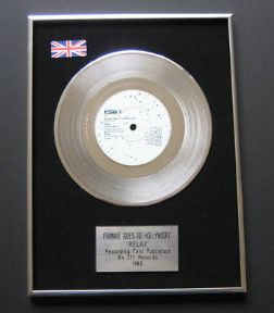 FRANKIE GOES TO HOLLYWOOD - Relax PLATINUM Single Presentation DISC